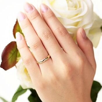 K18yg Wedding Ring Standard 3mm Tyakuyou