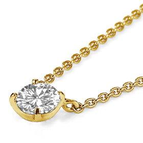 ネックレス/首飾り/necklace/ダイヤモンド/DIAMOND/女性用【斜め】