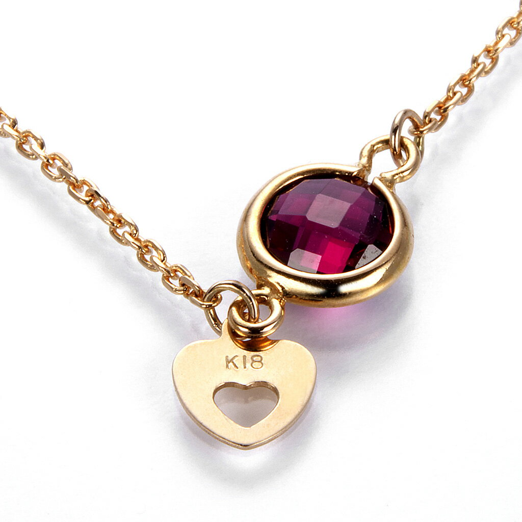 CS-DB Pendants 0.48ct Pink Gemstones M Charm Silver Necklaces
