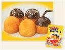 大阪名物のたこ焼きをイメージして作りました!!ソースの代わりにチョコレートソースを鰹節の...