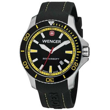 【Wenger】SeaForce(シーフォース)ブラック×イエローウェンガー