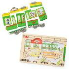 【エドインター】木製パズル(Go!Go!Train/ゴー!ゴー!トレイン)