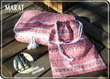 【SALE】トラベルバッグ&巾着セットMARAT(マラット)生地使用旅行/南仏プロヴァンス