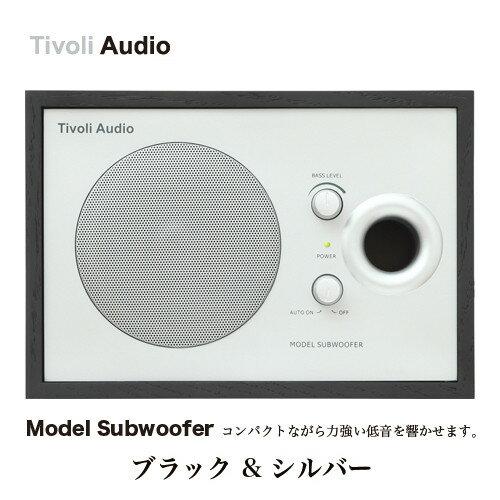 ●●Model Subwoofer/モデルサブウーファー【ブラック/シルバ...