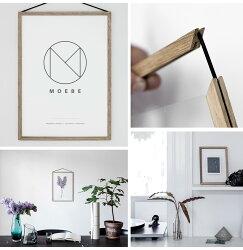 【MOEBE/ムーベ】FRAMEフレームA3サイズアルミニウム/オーク/壁掛け/ギフト/写真/ポスター/額縁【RCP】