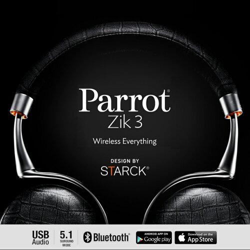 Parrot Zik 3.0フィリップ・スタルクがデザインした世界最先端のワイヤレス・ヘッド...