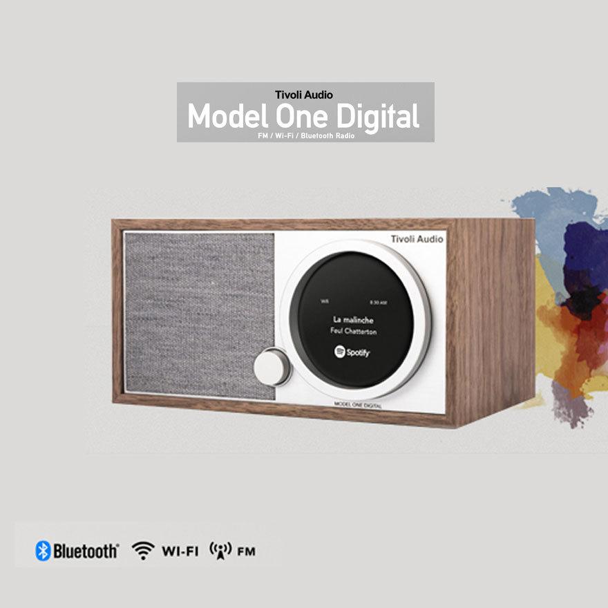 Tivoli Audio チボリオーディオ Model One Digital モデルワンデジタルブルートゥース Bluetooth AM FM ラジオ ワイヤレス スピーカー リモコン