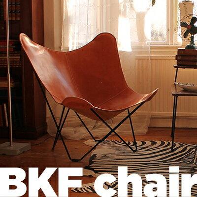 cuero/キュエロ BKF Chair/BKFチェア カラー:ブラウン Butterfly Chair/バタフライチェアベジタブルタンニンなめし革/MoMA/ミッドセンチュリー/コルビジェ/イームズ/クエロ【RCP】:Shinwa Shop
