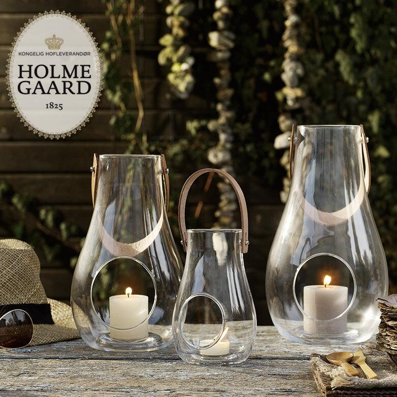 母の日対象HOLMEGAARD ホルムガードDESIGN WITH LIGHT Lantern Clear Mサイズ #4343501:short  H24.8デザイン ウィズ ライト ランタン クリア キャンドルホルダー ランタン ・紙ランプ・ランタン/北欧
