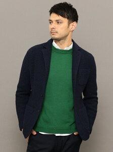 [Rakuten Fashion]SC:TEXBRID(R)ハニカム/ジャガードローゲージ2ボタンジャケット SHIPS シップス シャツ/ブラウス ワイシャツ ブルー グレー ブラウン グリーン【送料無料】