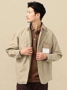 [Rakuten Fashion]【SALE/40%OFF】SC:ミリタリーカバージャケット SHIPS シップス コート/ジャケット カバーオール ベージュ グリーン ネイビー【RBA_E】【送料無料】