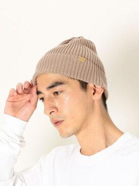 [Rakuten Fashion]【MonoMax6月号p.52掲載】SHIPSany:コットンリネン2×2リブワッチ SHIPS any シップス 帽子/ヘア小物 ニット帽/ビーニー ブラウン グレー ブラック オレンジ ネイビー パープル