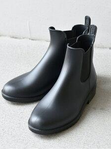 [Rakuten Fashion]w.p.c:サイドゴアレインブーツ SHIPS any シップス シューズ レインブーツ ブラック【送料無料】
