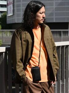 [Rakuten Fashion]SHIPS: HYBRID LEATHER ネックポーチ SHIPS シップス バッグ ショルダーバッグ ブラック カーキ ネイビー【送料無料】