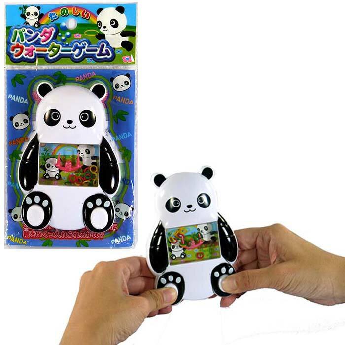 パンダウォーターゲーム【12個入り】1個あたり78円おもちゃ 景品 おまけ イベント 子供 玩具 輪投げ 水中 動物園