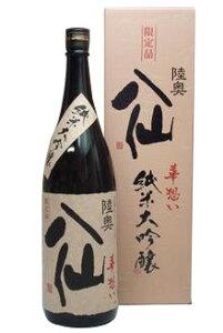 精米歩合40% 最高レベルの純米大吟醸陸奥八仙 華想い40 純米大吟醸 1800ml