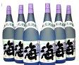 芋焼酎 海 25度 1800ml×6本 − 大海酒造