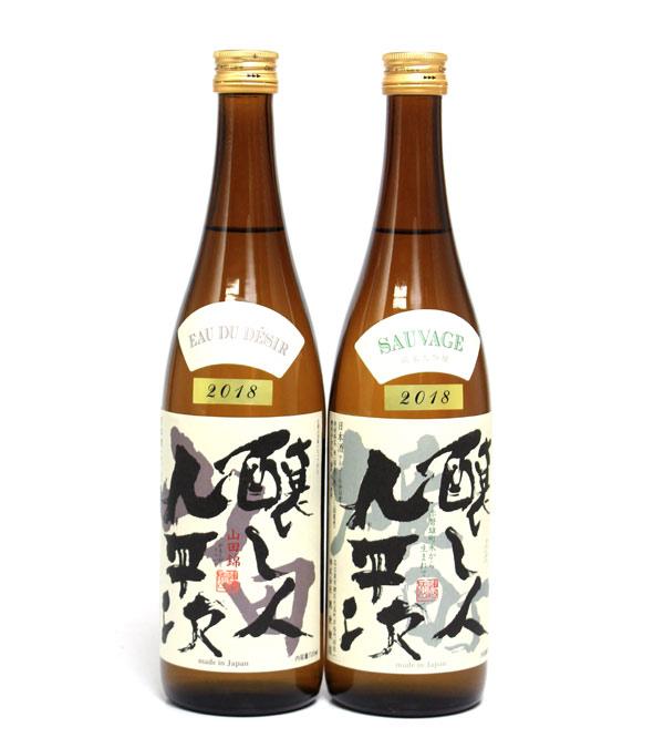 醸し人九平次 純米大吟醸 雄町 & 純米大吟醸 ...の商品画像