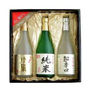 小富士 純米吟醸・純米・超辛口 720ml×3本ギフト用化粧箱入セット − 島田酒造