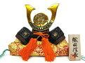 【日本製】和風インテリア置物高岡伝統美術工芸品出世兜(かぶと)名将兜織田信長