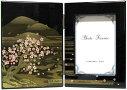 海外向けおみやげ日本のお土産加賀の伝統石川伝統工芸品加賀山中漆器ブック型写真立て日本フォトスタンド吉野山水日本桜
