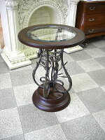 アイアン丸テーブル