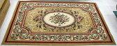 お買い得【即納可!!】【送料無料!!】再入荷しました♪ウィルトン織り絨毯 ベージュサイズ:160×230cm
