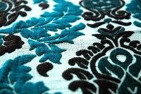 【輸入カーテン】インド製ゴブラン織ドレープカーテン「ガルデニア」[中欧・北欧・南欧から直輸入/ヨーロッパ/オーダー/インポート/タッセルあり]2倍ヒダ巾(~100cm)×丈(~210cm)北海道・沖縄・離島別途見積