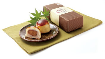 ひとつひとつ手作りのブランデー入り和菓子想われ栗