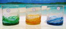 琉球ガラス★泡花見グラス(5色)★沖縄・人気・土産・琉球グラス・かわいい・ギフト・祝い・プレゼント…
