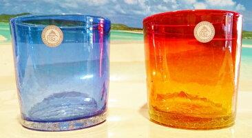 琉球ガラス★リップルたるグラス(3色)★沖縄・人気・土産・ギフト・かわいい・ガラス・プレゼント・手作り・美味しい…