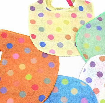 【名前入りよだれかけ/ポップカラー】今治タオル imabari towel Japan ふわふわ 高い吸水性 ベビー スタイ 出産祝い かわいい 赤ちゃん