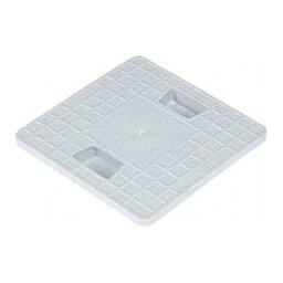 集水マス#250フタ(アナナシ) (ホワイト、ミカゲ色の選択あり) 805383 サンコー(三甲) ●業務用