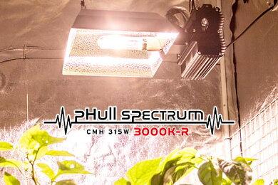 植物育成ライトLUMiiSOLARFixture315W+開花用PROの電球セット