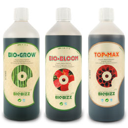 【有機肥料】BIOBIZZSeriesバイオビズシリーズ1Lのお得な3本セットの有機肥料