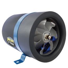 PhatFan6(ファットファン)直径150mm高速回転で振動も少ない超高効率なハイパーファン