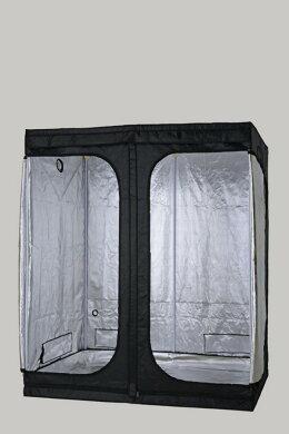 水耕栽培グロウボックス「SODATECKGREENROOMXL(180x100x200cm)」グロウボックス内に[植物育成ライトLED]や水耕栽培キットも設置できる【安心の1年保証】