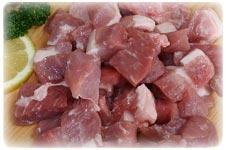 にじみ出る旨みが違う。育て方の差がはっきりと煮込み料理にハーブ飼育の銘柄豚肉・浜名湖育ちカレー・シチュー用豚肉300g