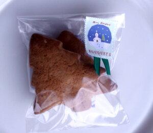 アメリカのクリスマス国産小麦・無添加・天然酵母手作りジンジャーブレッドクッキー[クリスマ...