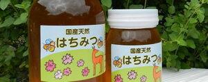 奈良県 吉野の山里こだわりの100%純粋国産蜂蜜 600g (ガラス瓶入り)ミツバチが元気に花の蜜を採取する期間は一切の化学農薬・除草剤等不使用 農家仲間の森本養蜂場さんの蜂蜜!ミネラル ビタミン アミノ酸 ポリフェノール 有機酸等を含有
