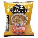 どんぶり麺・納豆そば(81.5g)【トーエー】