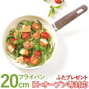 【ガラス蓋プレゼント!】グリーンパン ウッドビー フライパン(20cm)【グリーンパン】