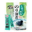 天然だし減塩のり佃煮青のり入り(6g×10袋)【西嶋海苔】