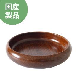 木製食器ケヤキトレーニングプレート(ウルシ)【TOMATO畑】