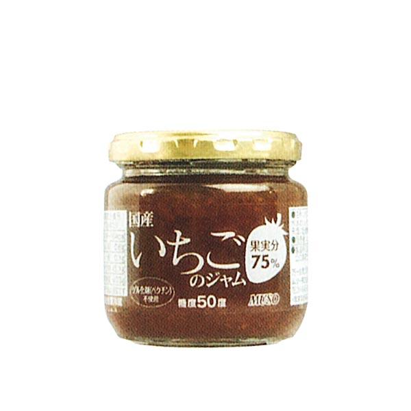 国産いちごのジャム(200g)【ムソー】の商品画像