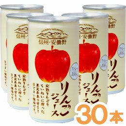 信州安曇野蘋果汁(*30部190g)
