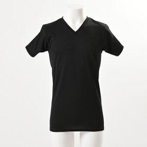 脇汗対策防臭対策汗を吸収するアンダーパッド付きTシャツ消臭制汗抗菌防臭
