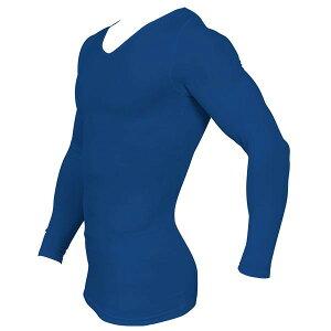姿勢矯正&筋力増強アップ送料無料加圧メンズトレーニングロングTシャツMサイズスパルタックススポーツインナーエクササイズメタボリック対策サポーターモテ筋Vネック長袖肩こり改善