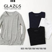 ベーシック Tシャツ ジュニア トップス カジュアル シンプル グラソス