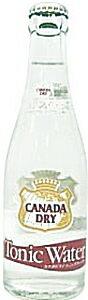 コカ・コーラ カナダドライ トニックウォーター レギュラー瓶業務用 207ml 24本入り 1ケース(瓶・容器代込) コカコーラ